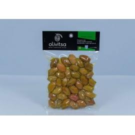 Zelené olivy OLIVITSA s kôstkou 500g