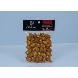 Marinované celé zelené olivy OLIVITSA s chilli 500g