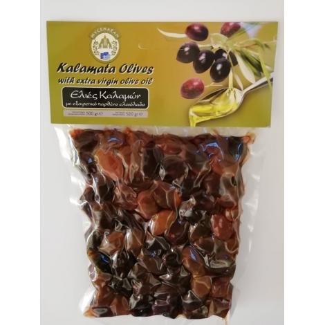 Kalamata olivy MYCENAEAN s kôstkou 500g