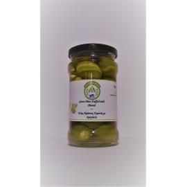 Zelené olivy plnené mandľami 170g